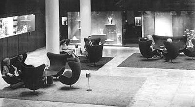 Vidste du at Ægget sofaen fandtes? Skandinaviskdesign.dk