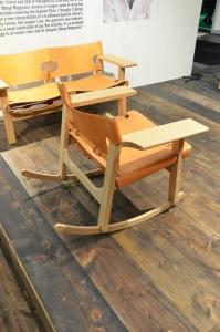 Vidste du at...Alfredo Häberlis fortolkninger af Mogensens spanske stol - Billederne er fra Fredericia Furniture's messestand på Stockholmsmessen 2014 (100 året for børge)