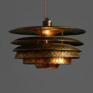 Pariserlampen, dekoreret af Axel Salto