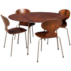 Arne Jacobsen, Myrestole og æggebord, tror jeg