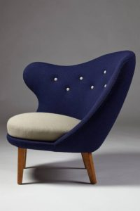 Arne Norell, Thumb Chair, 1940s