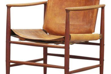 Siesta stol, model BO110, kai lyngfeldt larsen, bovirke