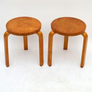 pair-retro-bentwood-stools-alvar-aalto-finmar-vintage-1940s_86758