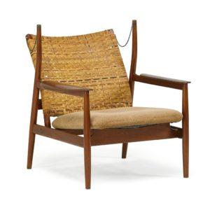 Finn Juhl, sjælden stol, 1950erne, billede af Artsy